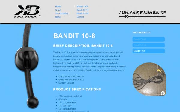Bandit 10 8   Kwik Bandit