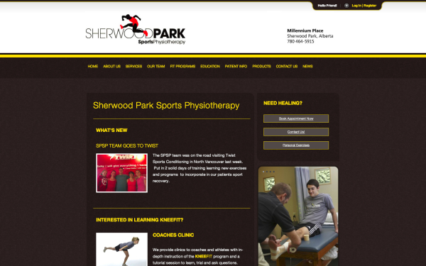 Sherwood Park Sports Physiotherapy - Physiotherapy in Sherwood Park